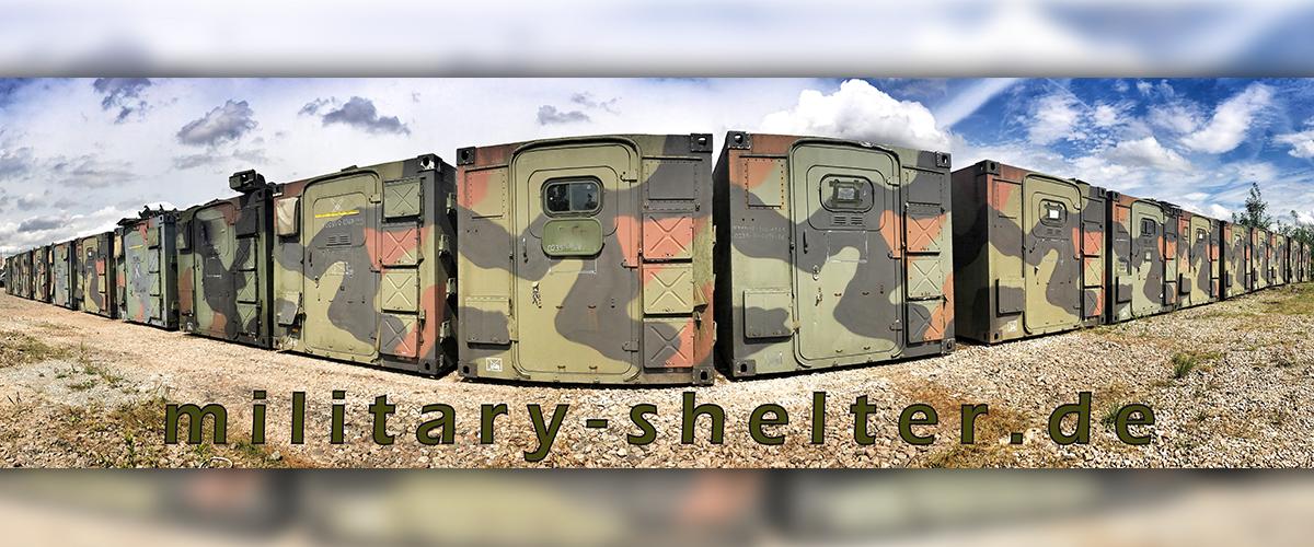 Military Shelterde Kabinen Zubehör Technik Home